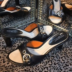 Rock Port leather upper Sandals, like new